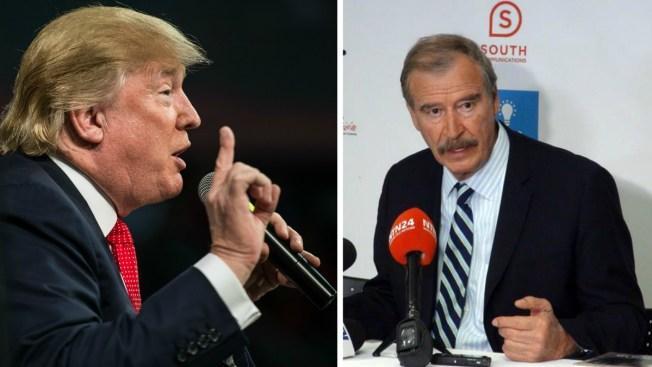 Así reacciona Trump a frase obscena de Vicente Fox