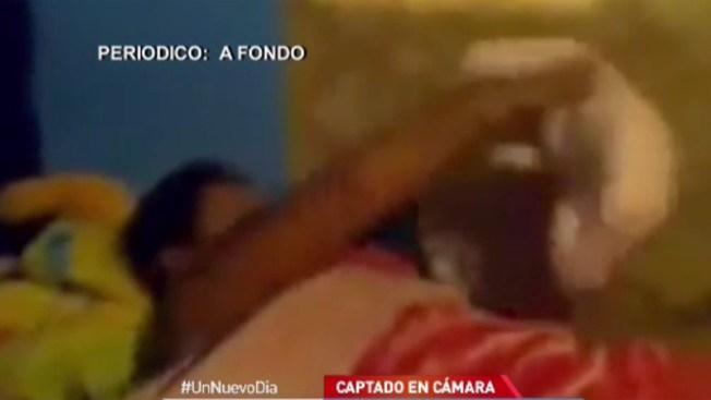 Pareja maltrata a bebé en México