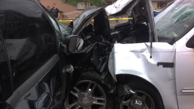 Accidente deja a 5 personas gravemente heridas