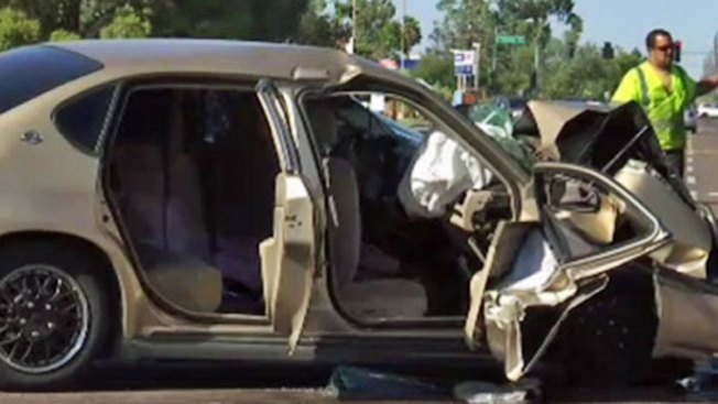Varios heridos tras accidente vehicular
