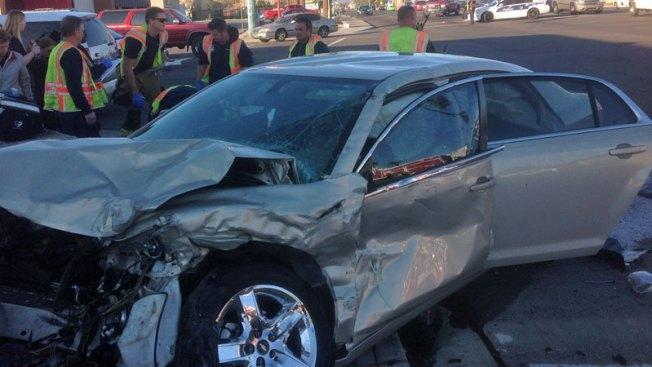 Accidente en Phoenix deja niños heridos