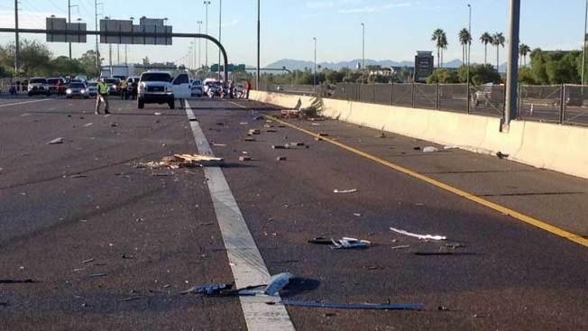 Accidente en autopista 17 deja varios heridos