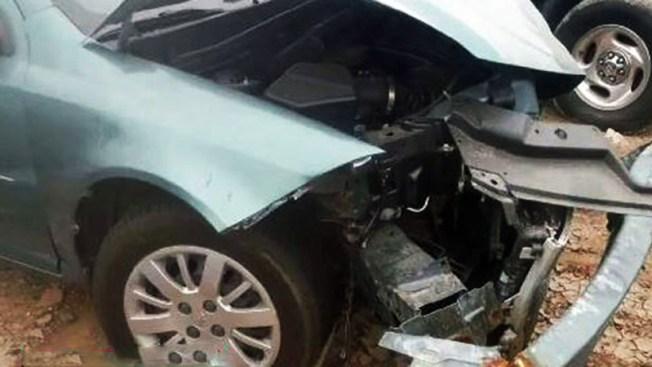 Trágico accidente por vehículo robado
