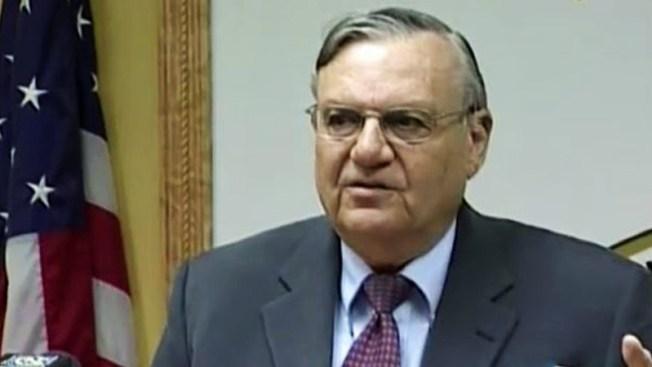 """Arpaio pide """"más dinero"""" para el 2015"""