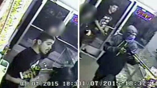 Buscan a hombre tras asalto en tienda