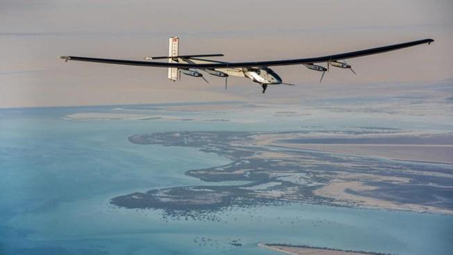 Avión solar llega a la India