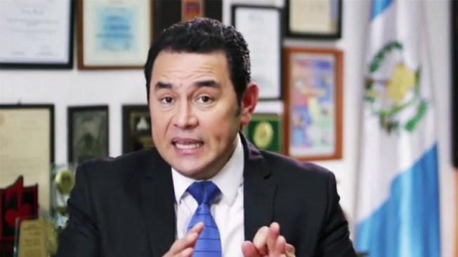 Jimmy Morales: Salta a tercera posición en intención de voto
