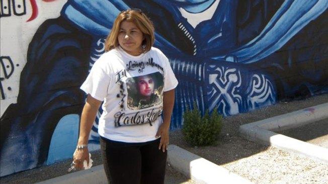 Recuerdan a joven asesinado por Patrulla Fronteriza