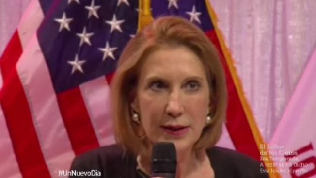 Carly Fiorina es la nueva aspirante a presidencia