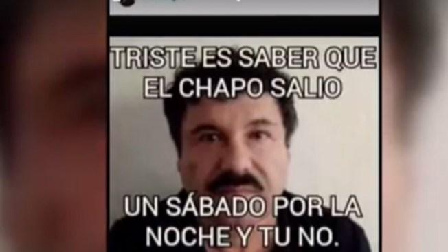 """Las reacciones a la fuga del """"Chapo"""" Guzmán"""