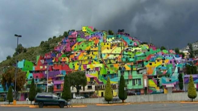Colonia ahora es el mural más grande de México
