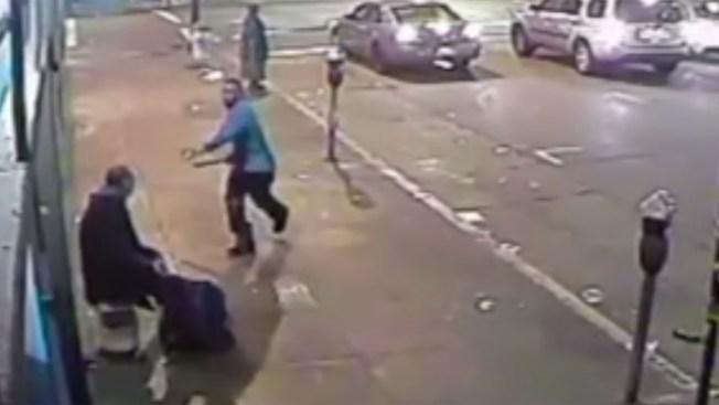 En video: brutal agresión contra desamparado