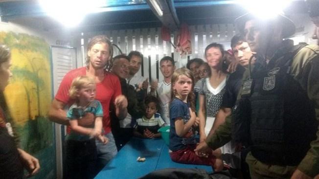Brasil: hallan a familia de EEUU atacada por piratas en la selva
