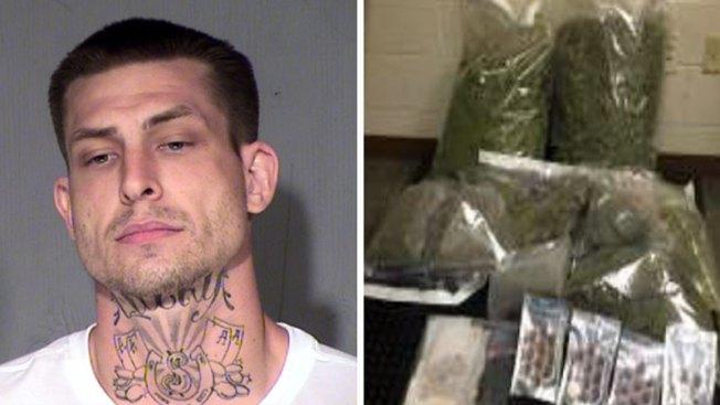Descubren marihuana tras robo de electricidad