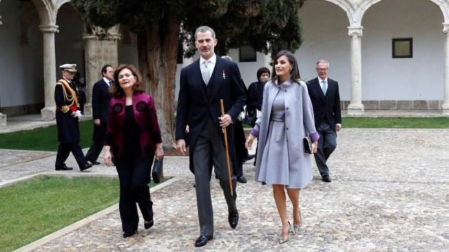 AMLO arremete, pero rey de España elogia a México