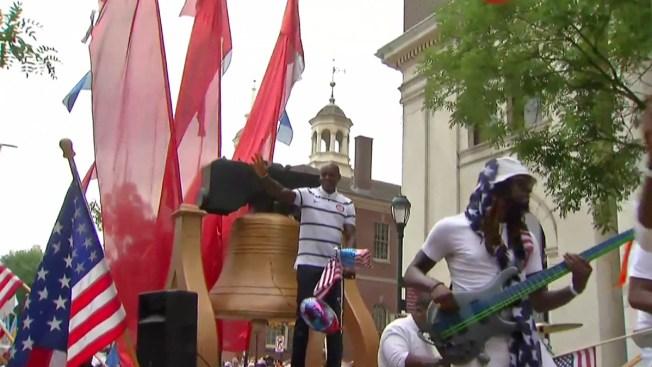 Celebran el 4 de julio donde nació EEUU