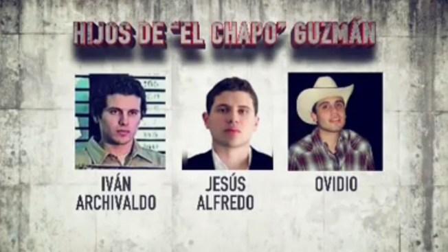 """Bajo la lupa los hijos de """"El Chapo"""" Guzmán"""