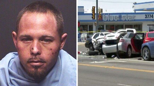 Tucson: Detenido tras persecución, tiroteo y choque