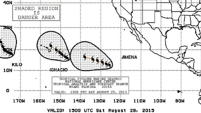 Huracán Jimena se aleja de costas mexicanas