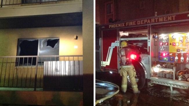 Incendio causa destrozos en apartamentos