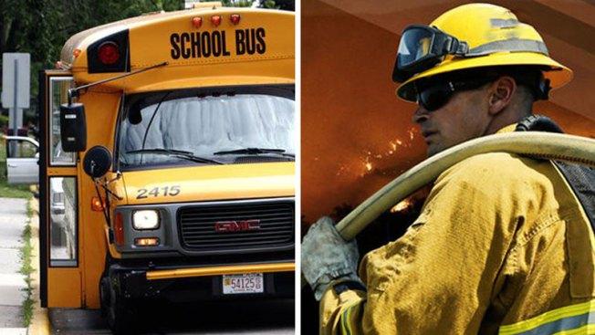 Retiran buses escolares de Tucson tras incendio