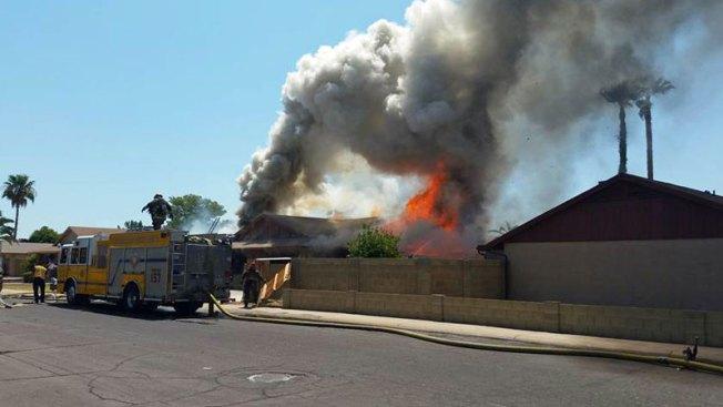 Incendio en vivienda pone en alerta a comunidad