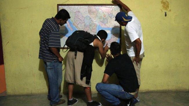 Temperaturas afectan a inmigrantes en frontera