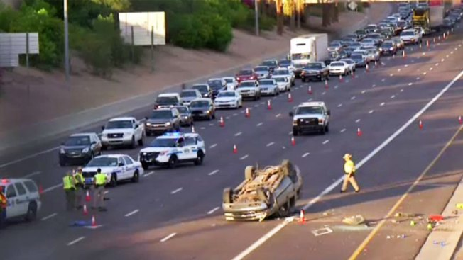 Accidente en I-10 deja cinco heridos y dos muertos