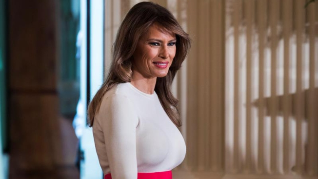 Melania Trump prepara gira internacional sin su marido