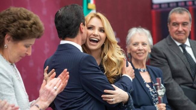 Angélica Rivera revela por qué Peña Nieto se casó con ella