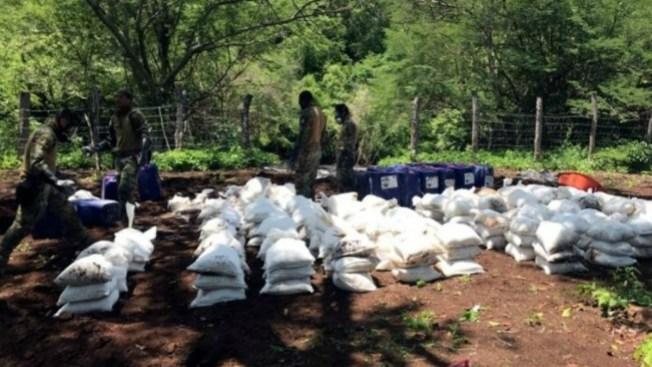 Decomisan 10 toneladas de drogas sintéticas