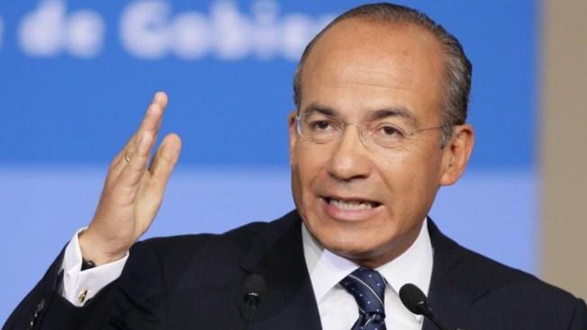 Expresidente Calderón llama a organizarse políticamente contra AMLO