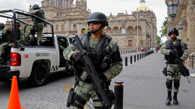 Guardia Nacional tiene primer enfrentamiento con cartel