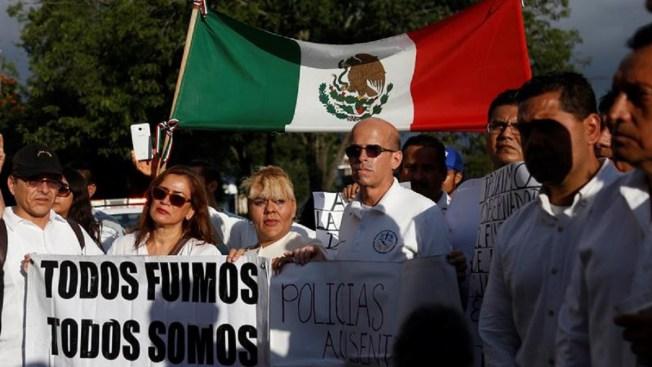 Policías de Jalisco reclaman mayor seguridad