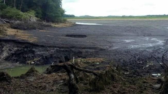 Laguna en zona arqueológica desaparece en 24 horas