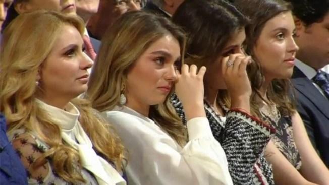 Lágrimas de Angélica Rivera, Sofía Castro y Pau Peña