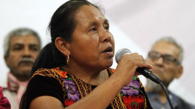 Aspirante indígena no apoyará a ningún candidato