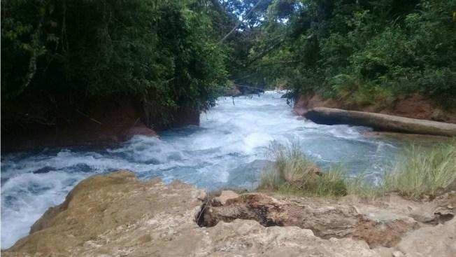 Cascadas de Agua Azul, en riesgo de quedar sin agua