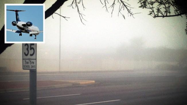 Neblina en Phoenix causa retrasos en aeropuerto