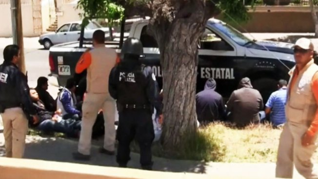 Inmigrantes bajo cautiverio en Nogales, Sonora