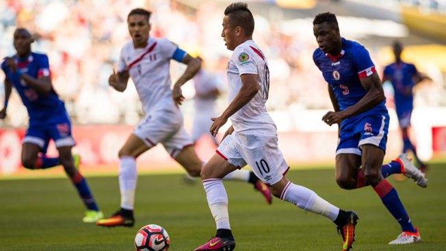 Perú gana a Haití tras superar dudas