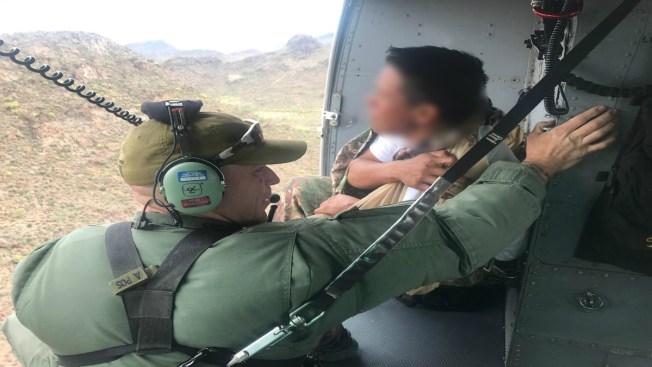 Cuatro migrantes rescatados por Patrulla Fronteriza en Tucson