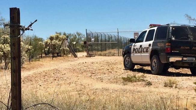 Encuentran restos humanos en el desierto