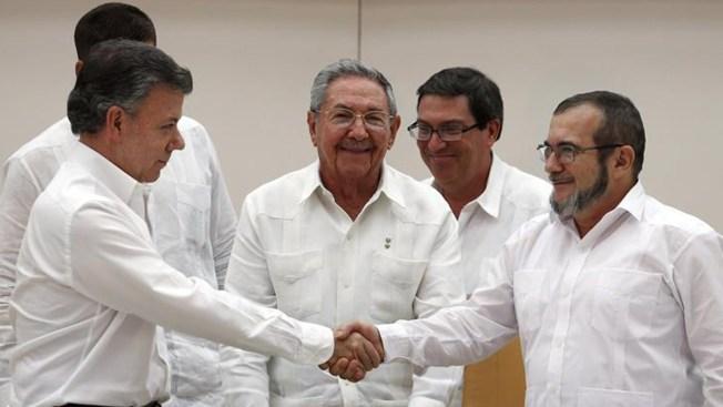 Colombia: anuncian histórico acuerdo por la paz