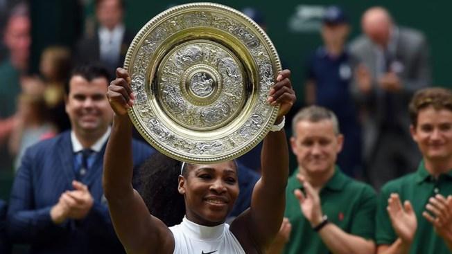 Wimbledon queda en manos de Serena Williams por 7ma vez