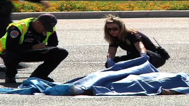 Peatón muere atropellado en Chandler