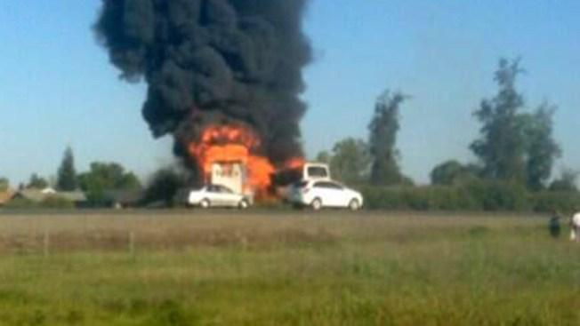 Trágico accidente de bus estudiantil