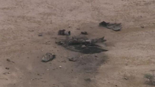 Aeronave militar se estrella en Phoenix