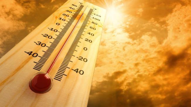 Advertencia por calor excesivo