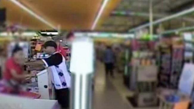 Impresionante asalto en supermercado